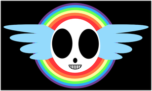 Rainbow Dash's Jolly Roger by PypeHype