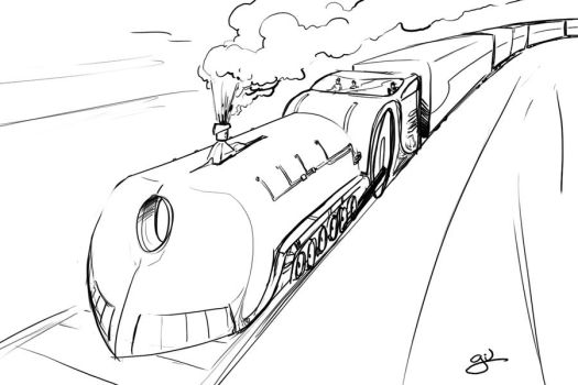 Concept train by fergil
