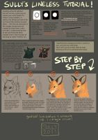 Lineless Tutorial by CoyoteMange