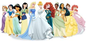 Official Disney Princesses by archibaldart