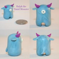 Ralph the Timid Monster by TimidMonsters