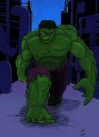The Hulk by warmuzak