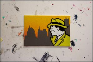 Dick Tracy by truemarmalade
