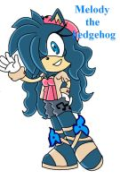 .:Melody The Hedgehog:. by xMissFabulousx