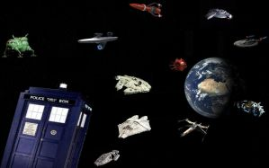 Spaceships of Science Fiction by DoctorWhoOne