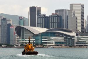 Hong Kong Convention Centre by wildplaces