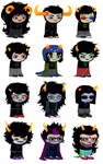 new sprites - trolls by AleeyaGo