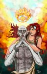 Go to Valhalla, my love. by MeaT-Artworx