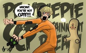 PEWDIEPIE - SCP: CONTAINMENT BREACH by XanderComicsInc
