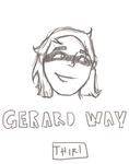 Gerard Way by thiriaungaye123
