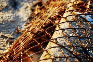 Rusty Fence by Takemybreathaway1191