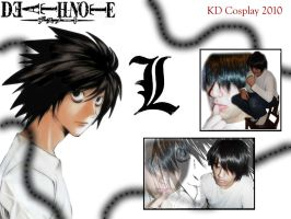 Death Note - L - Cosplay by KarlDArt