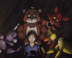 Sira's Five Nights at Freddy's by WinterWolf10