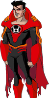Red Lantern SuperboyPrime DCAU by Azraeuz