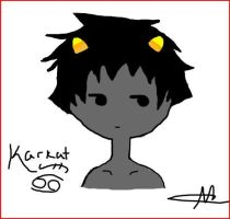 Karkat....OuO by ThePrussianFlag