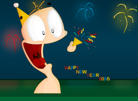 Happy New Year 2006 by Meatball-man