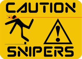 Caution Snipers by chensamurai