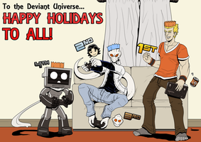 DU Dec 2012: Christmas Game Night by VexusVersion