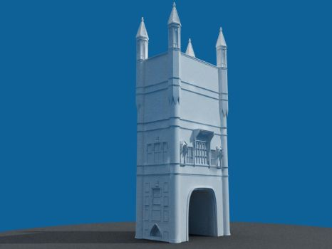 C4Des Contest- Towers wip2 by elp1210