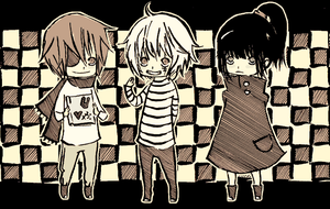 DGM, oh chibi time by Nuutti
