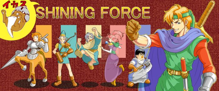 Shining Force by kamiomutsu