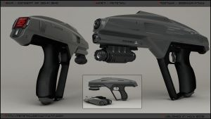 VIDAR - concept of SMG. by peterku
