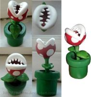 Super Mario Piranha Plant by Tsurera