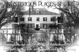 Mysterious Places 2 PS Brushes by alianora