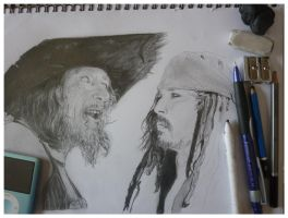 Pirates of the Caribbean WIP by mychemplan