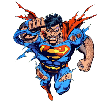 Superman, the final hit by JayC79