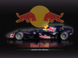 Red Bull Gives You Wings F1 by tmr5555
