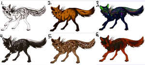 Musical wolf adopts [CLOSED] by HowlingWolfBlood75