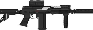 Vepr Industries - Mark 6.2 X-SGI-6 Submachinegun by prokhorvlg