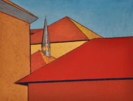 Rooftops 1 by BRipin