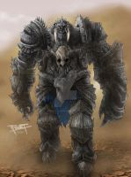 Frost Giant by FrostLlamzon