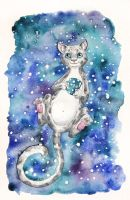 Constellation Tea Cat by Lavenderwitch