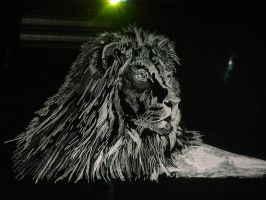 The Lion by misbeavin