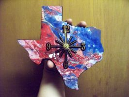 Second Texas Clock Complete! by johnlewisbrooks