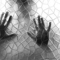 Trapped in a broken society by VisualArtist-Jorn