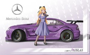 Chiyo and her SL65 by Acdnoodles