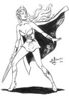 She-ra POPower Sketch by JLRincon