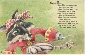 Raccoon Captain Hook by pockets1987