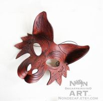 Brown wolf mask nondecaf by nondecaf