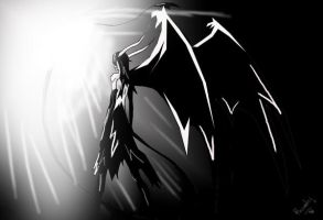 light and darkness_ ulquiorra by xD-Ruah-xD