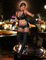 Lisa Hamilton(Pop Idol) Dead or Alive 5 Ultimate by XKamsonX