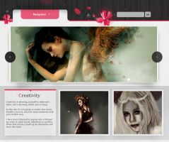 WP Theme - Pink Wood by So-ghislaine