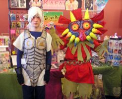 LOZMM: Skull Kid and Fierce Deity Link Cosplays by Kafae-Latte