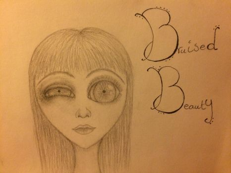 Bruised Beauty (inspired by Saccstry) by sarah718b