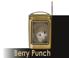 my little bioshock - Berry Punch message icon by MetaDragonArt