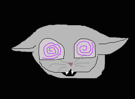 Cheshire cat's ghost (he's dead)...... by Mylittledragonturtle